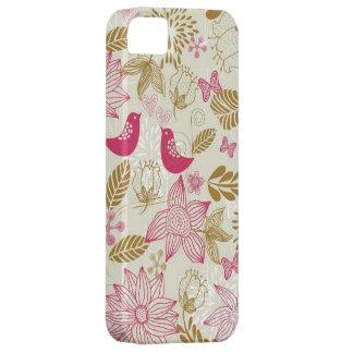 pájaros en caso del iphone 5 del amor apenas allí funda para iPhone SE/5/5s