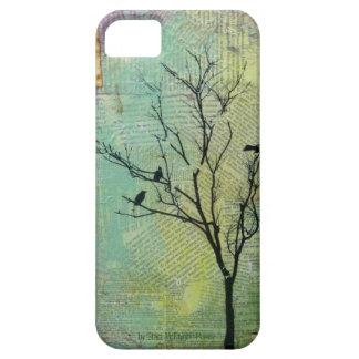 Pájaros en la casamata Barely There de la Funda Para iPhone 5 Barely There