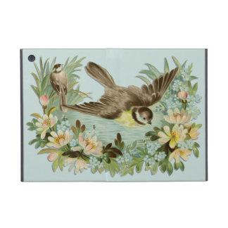Pájaros en la charca del verano iPad mini fundas