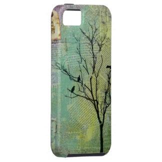 """Pájaros en los árboles """"necesidad """" iPhone 5 cárcasa"""