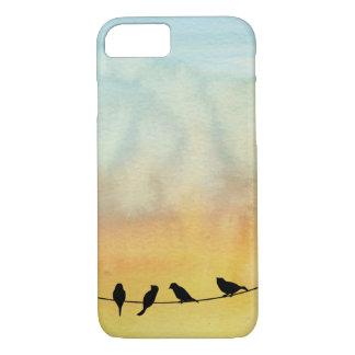 Pájaros en un alambre funda iPhone 7