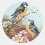 Pájaros en una jerarquía - pegatina
