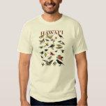 Pájaros endémicos de Hawai'i Camisas