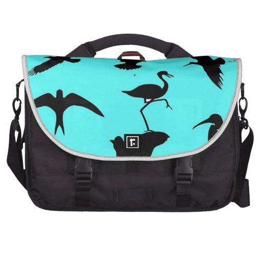 pájaros fiesta y amigos bolsas para portatil