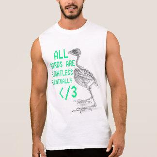pájaros flightless camisetas