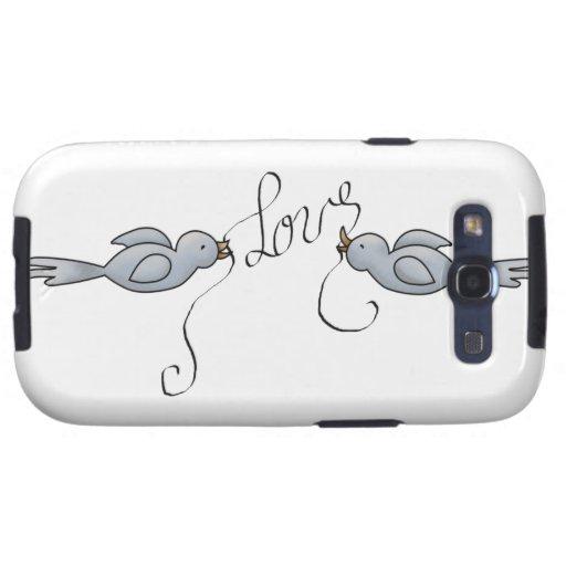 Pájaros Galaxy S3 Cárcasas