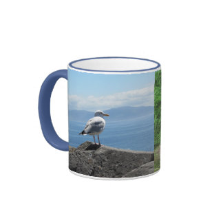 Pájaros irlandeses taza de café