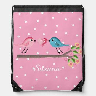 pájaros lindos mochilas