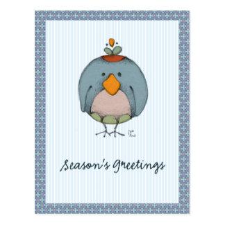 Pájaros locos tarjetas postales