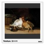 Pájaros muertos de Francisco Goya-