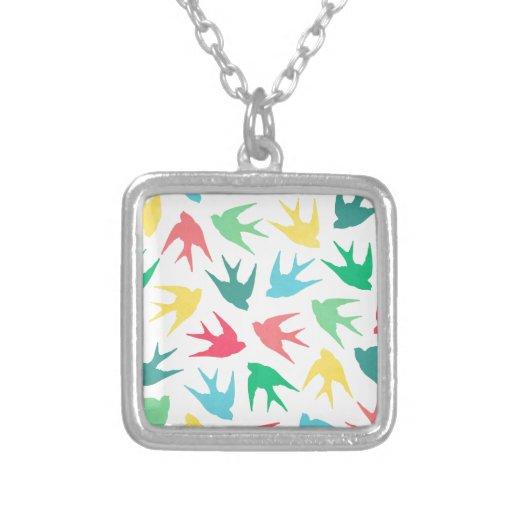 Pájaros multicolores grimpola personalizada