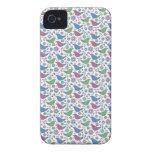 Pájaros preciosos del amor iPhone 4 carcasa