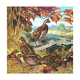 Pájaros que jerarquizan la pintura del vintage lona estirada galerias