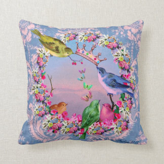 Pájaros reales por los estudios de Bella Bella Almohadas