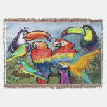Pájaros tropicales
