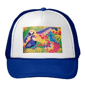 Pájaros tropicales gorras