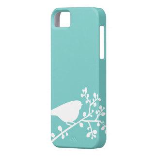 Pájaros y bayas de la MOD de la menta {escoja su c iPhone 5 Cárcasa