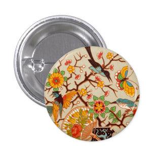 Pájaros y botón de las mariposas pins
