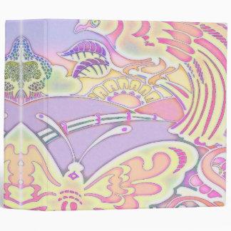 pájaros y cuaderno en colores pastel de las maripo