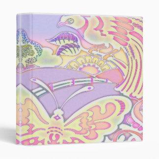 """pájaros y cuaderno en colores pastel de las maripo carpeta 1"""""""