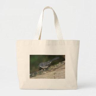 pájaros y flora australianos bolsas de mano