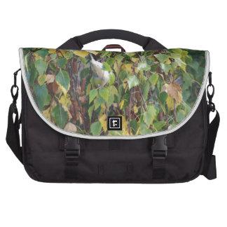 pájaros y flora australianos bolsas para portátil