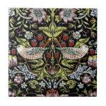 Pájaros y flores 2 de William Morris Azulejos Ceramicos