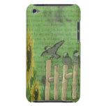 Pájaros y girasoles Case-Mate iPod touch carcasa