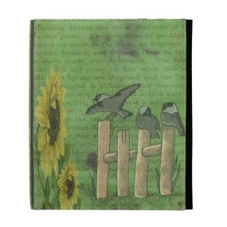 Pájaros y girasoles