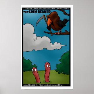 Pájaros y gusanos los posters divertidos del cubil