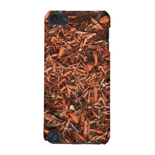 Pajote del cedro rojo con ruina funda para iPod touch 5G
