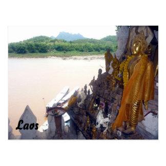 pak ou buddhas postcard