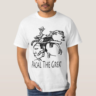 Pakal or Pacal - The Mayan King Shirts