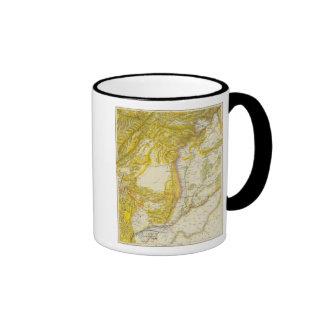 Pakistan and Afghanistan Ringer Coffee Mug