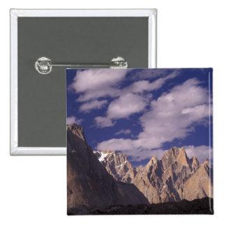 Pakistan, Baltoro Muztagh Range, Grand Cathedral Pinback Button