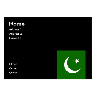 Pakistan Large Business Cards (Pack Of 100)