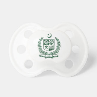 Pakistan Coat Of Arms Baby Pacifiers