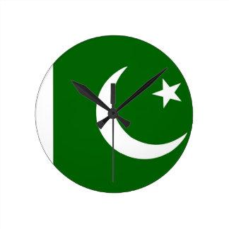 pakistan country flag clock