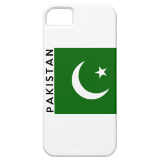 pakistan country flag text name iPhone SE/5/5s case
