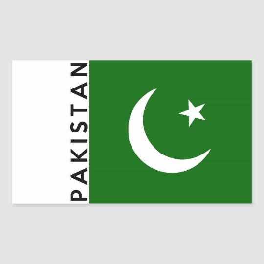 Flag Of Pakistan Sticker