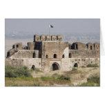 Pakistan, Dina. Talaqi Gate as seen from the Card