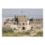 Pakistan, Dina. Talaqi Gate as seen from the Photo Print