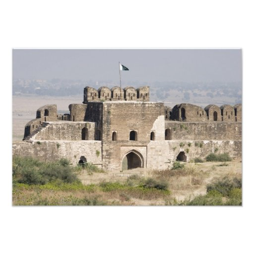 Pakistan, Dina. Talaqi Gate as seen from the Photographic Print