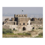 Pakistan, Dina. Talaqi Gate as seen from the Postcard