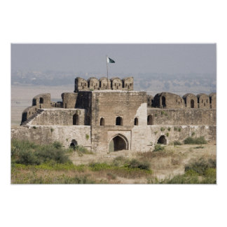 Pakistan, Dina. Talaqi Gate as seen from the Poster