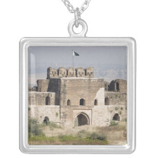 Pakistan, Dina. Talaqi Gate as seen from the Silver Plated Necklace