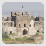 Pakistan, Dina. Talaqi Gate as seen from the Square Stickers