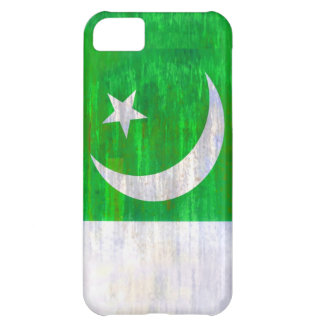 Pakistan distressed Pakistani flag iPhone 5C Cover