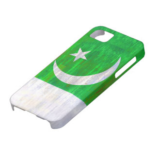 Pakistan distressed Pakistani flag iPhone SE/5/5s Case