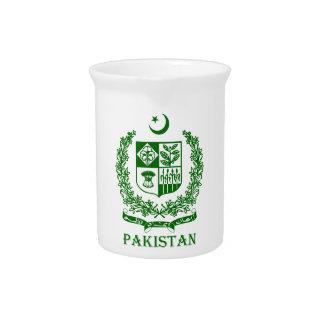 PAKISTAN - emblem/coat of arms/flag/symbol Beverage Pitcher